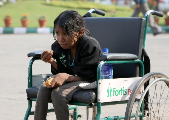 _Daulati in Wheelchair