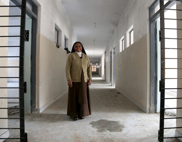 _Sister Jaya Mary in Hallway
