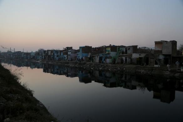 _Slum at Dusk