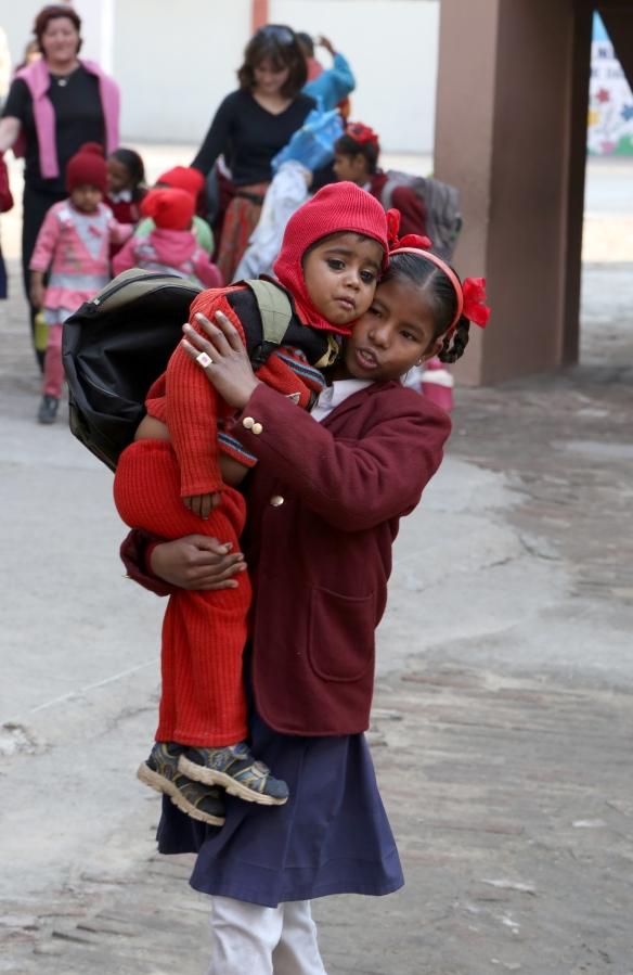 _Indu Carrying Gopika