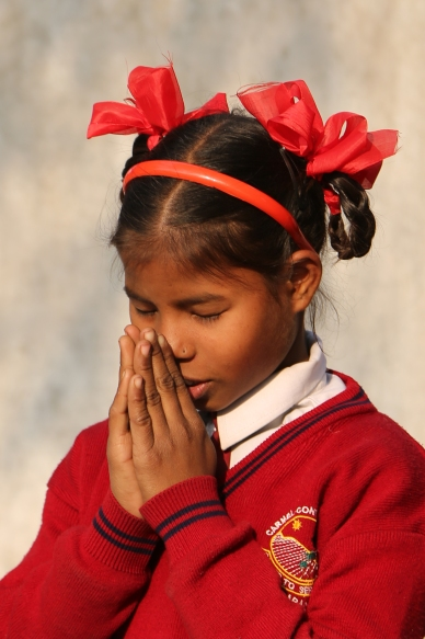 _Indu Praying
